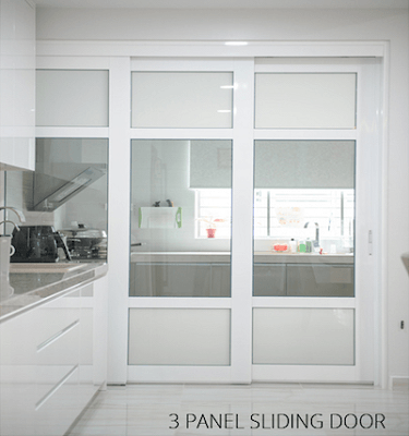 3panel Kitchen Door