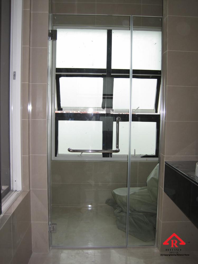 Reliance Home REH100 frameless shower screen-13