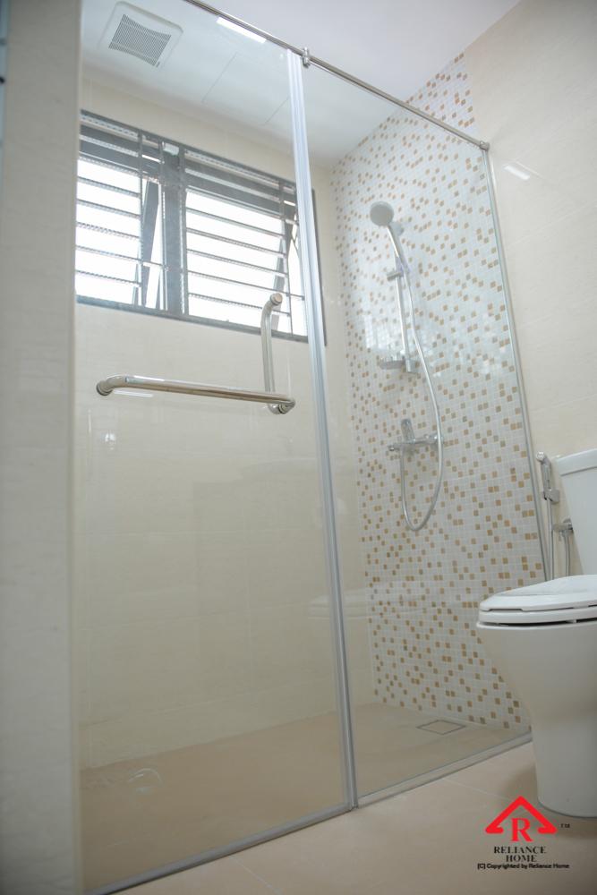 Reliance Home REH100 frameless shower screen-27