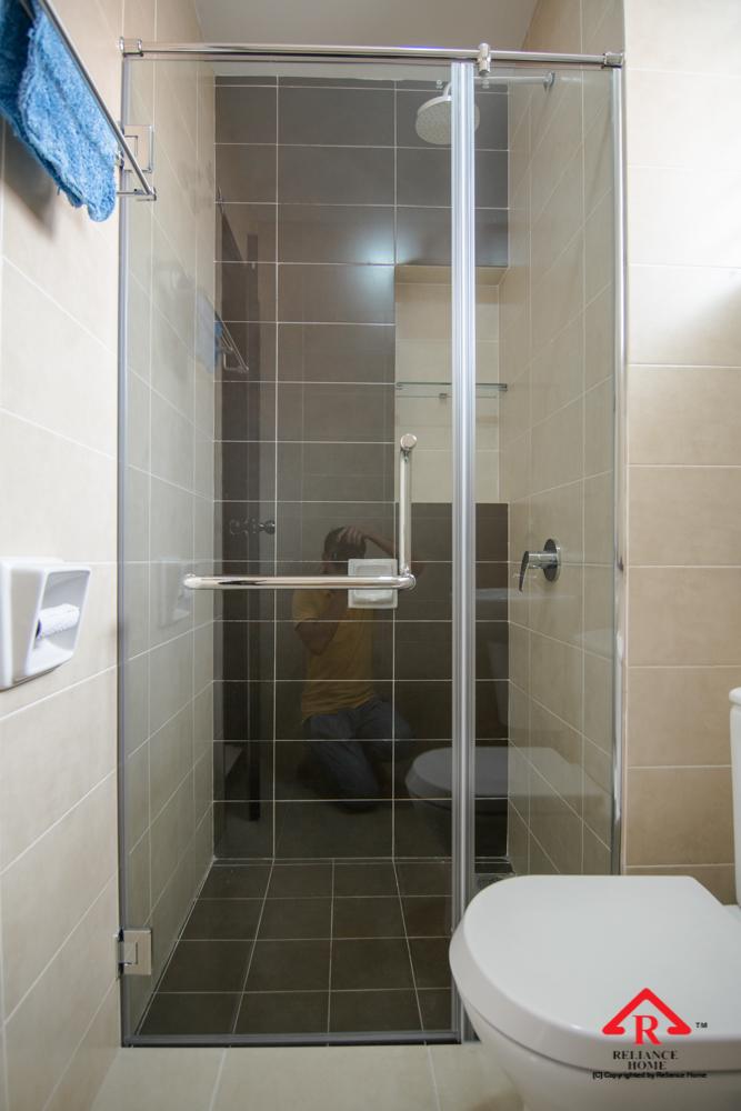 Reliance Home REH100 frameless shower screen-28