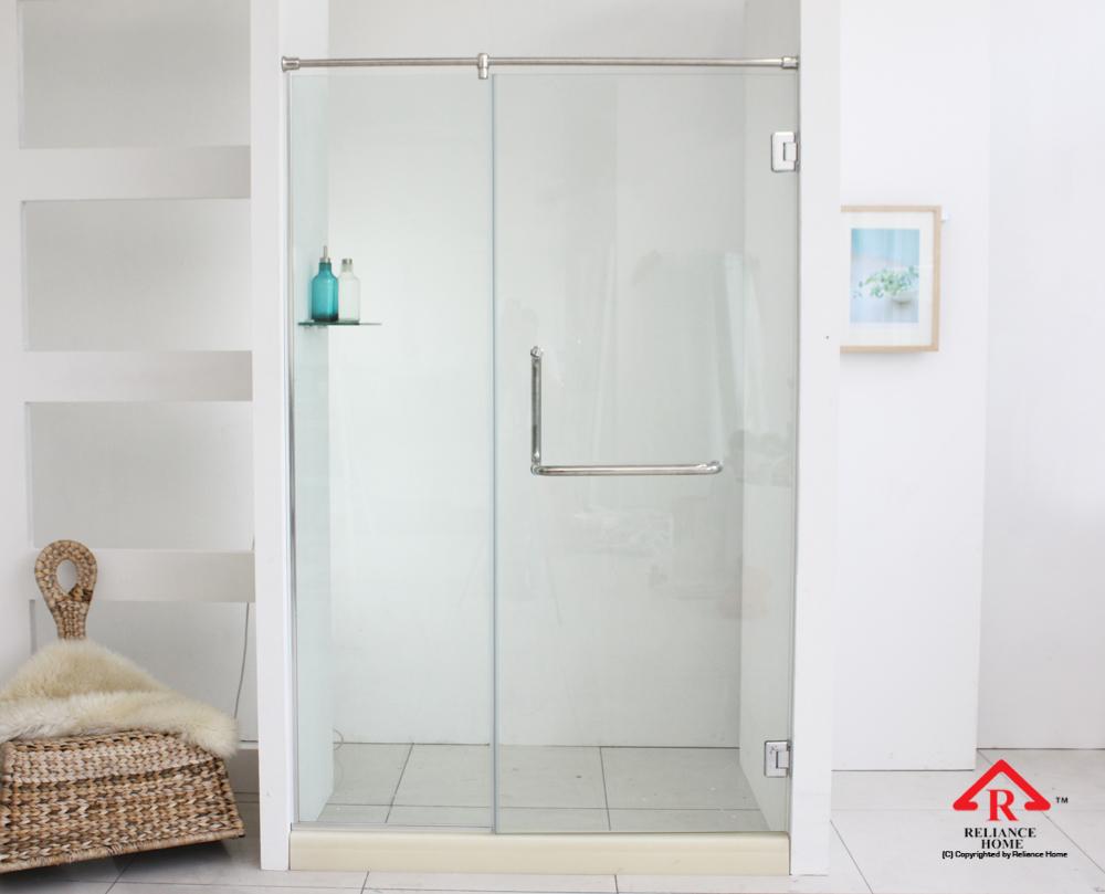 Reliance Home REH100 frameless shower screen-9