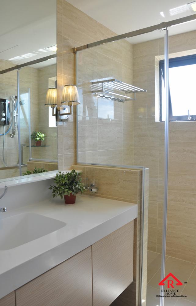 Reliance Home REHSQ frameless shower screen-2