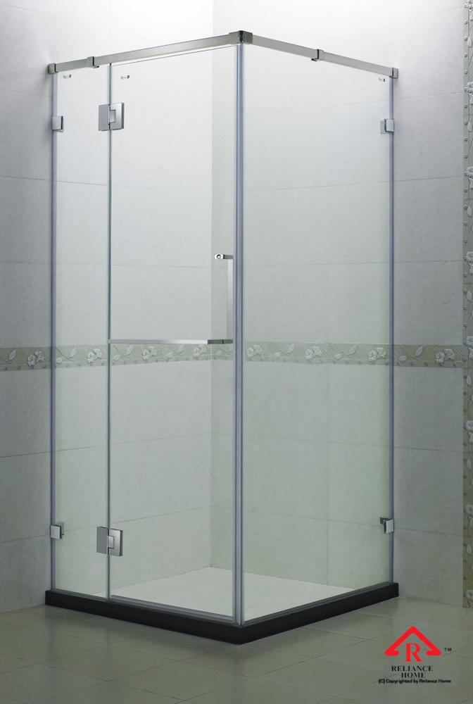 Reliance Home REHSQ frameless shower screen-4