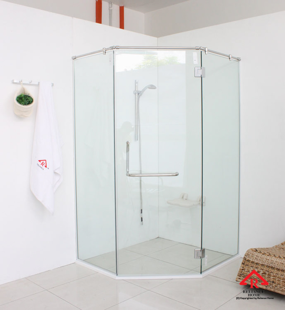Reliance Home REHSR frameless shower screen-12