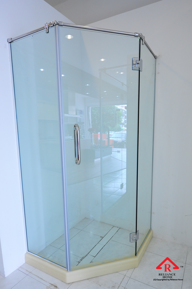 Reliance Home REHSR frameless shower screen-7