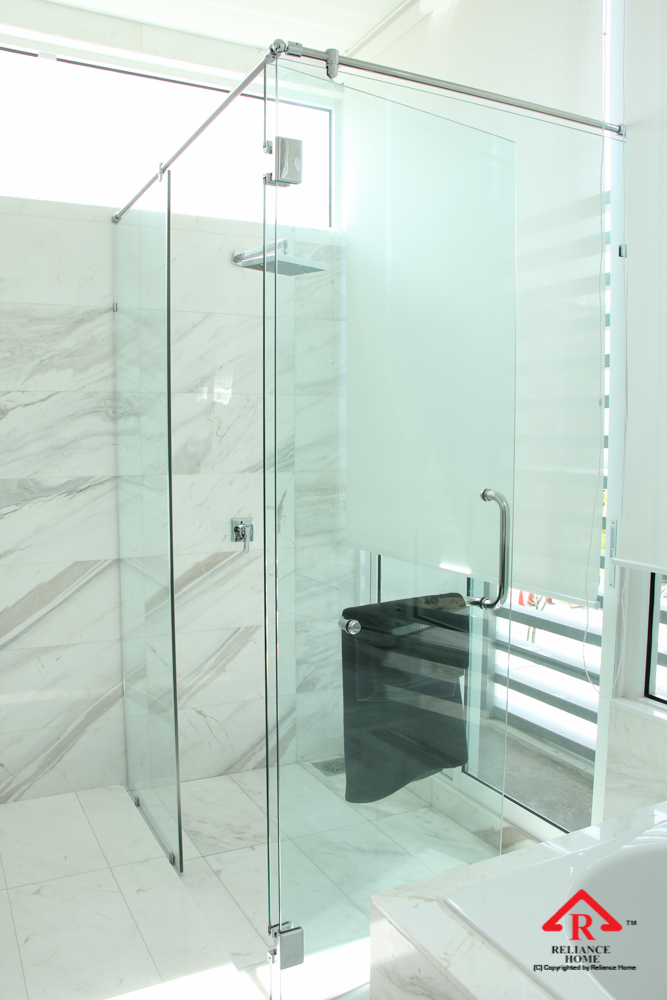 Reliance Home REHSR frameless shower screen-8