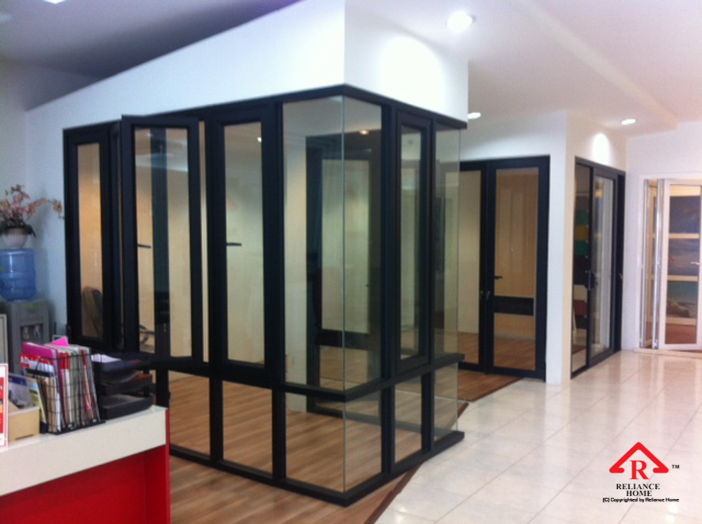 Reliance Home auminum glass partition-18