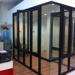 Reliance Home auminum glass partition-19