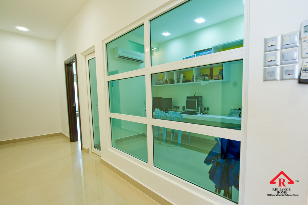 Reliance Home auminum glass partition-2