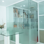 Reliance Home auminum glass partition-23