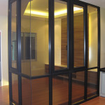 Reliance Home auminum glass partition-3