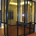 Reliance Home auminum glass partition-5