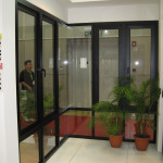 Reliance Home auminum glass partition-7