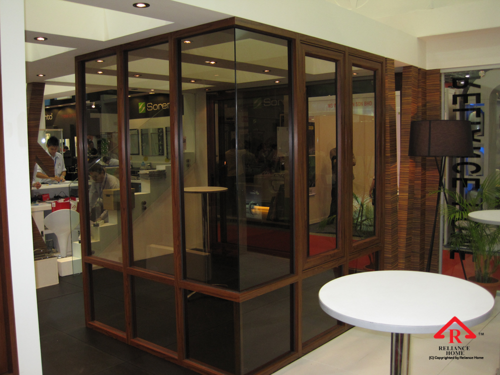Reliance Home auminum glass partition-8