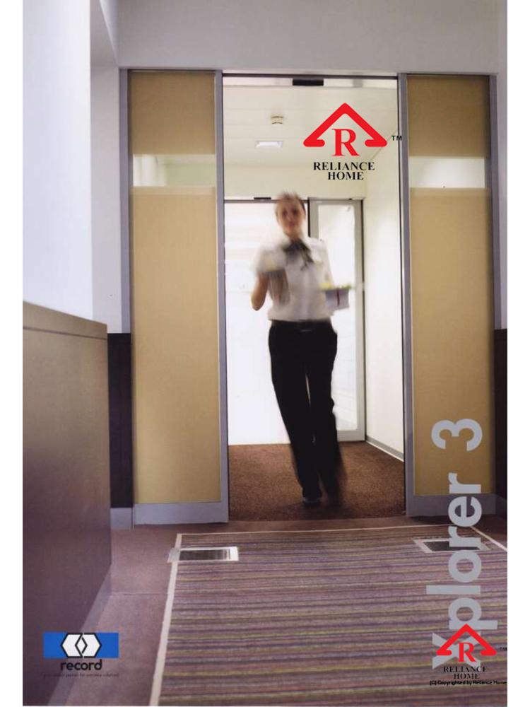 Reliance Home automatic frameless sliding door-4