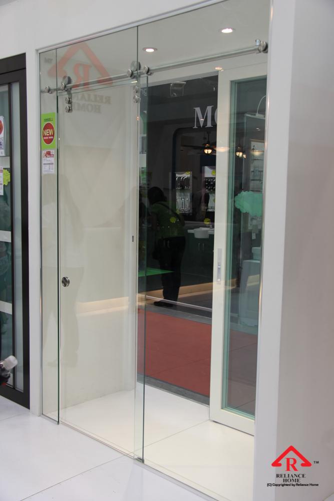 Reliance Home frameless sliding door-2