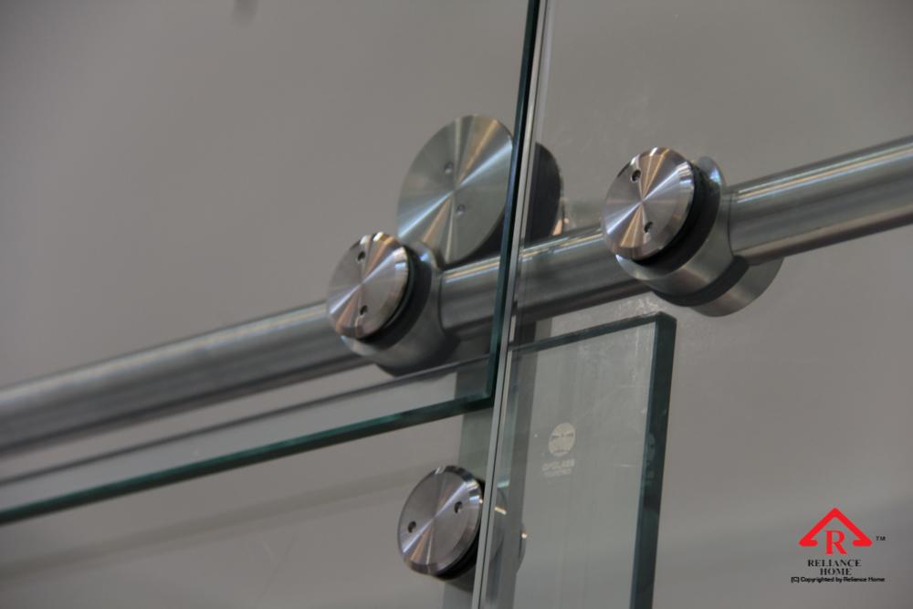 Reliance Home frameless sliding door-3