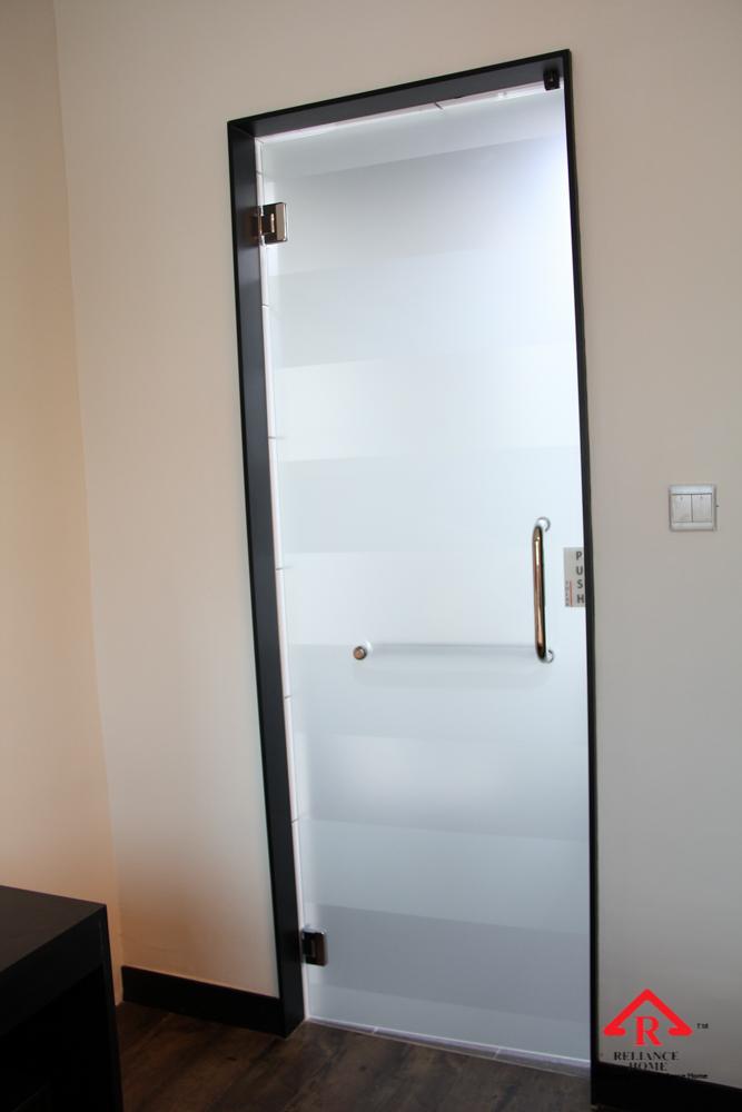 Glass Swing Door Reliance Home