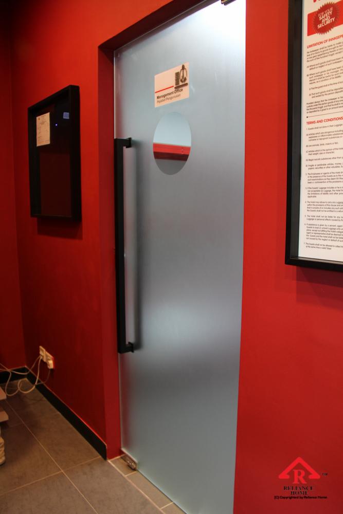Reliance Home glass swing door-12