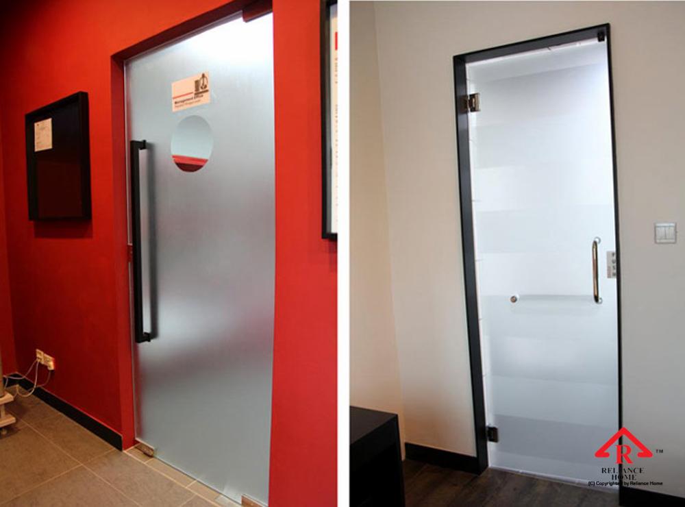 Reliance Home glass swing door-16