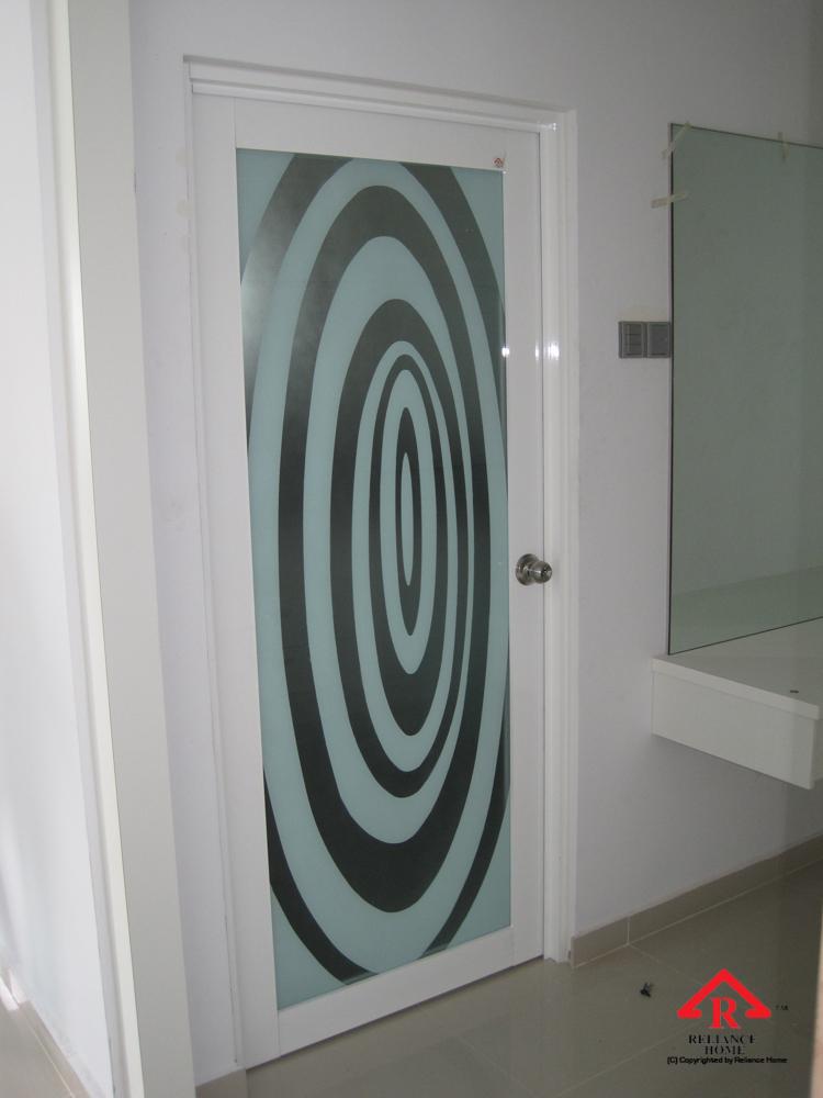 Reliance Home glass swing door-8