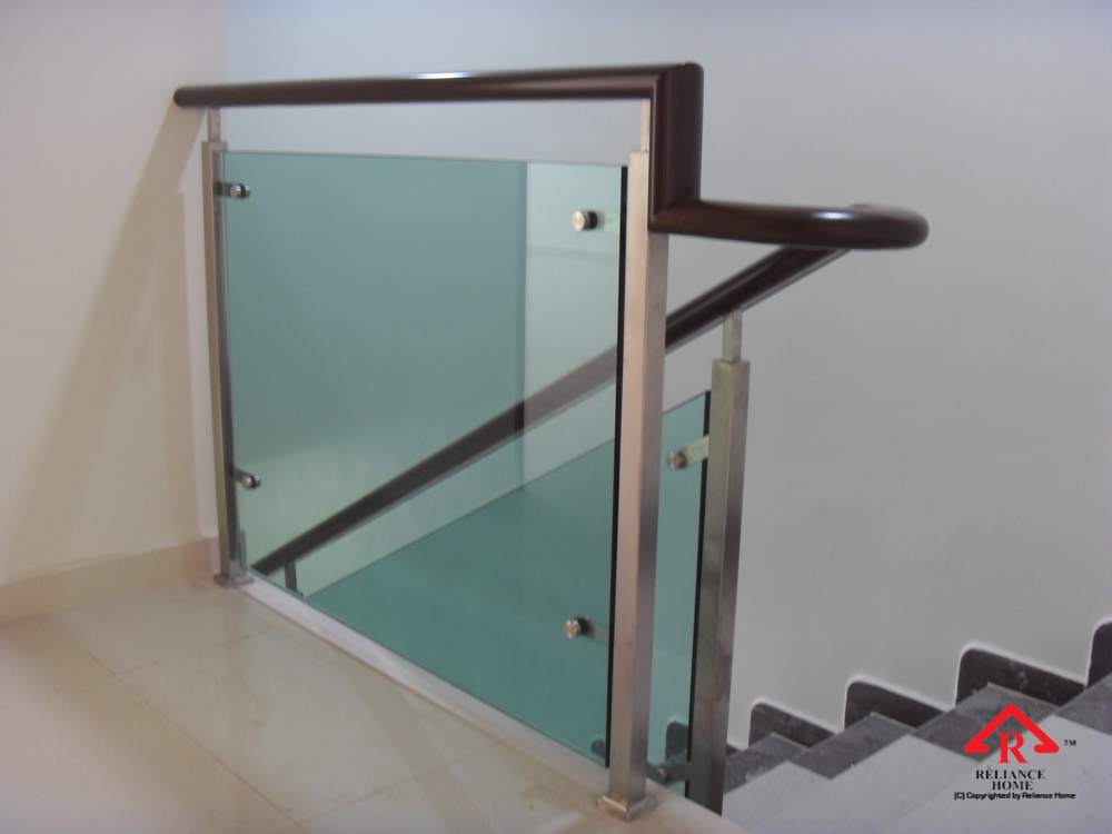 Reliance Home staircase glass-13
