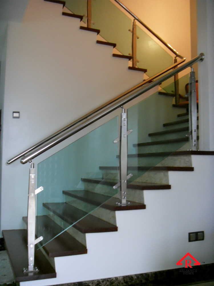 Reliance Home staircase glass-18
