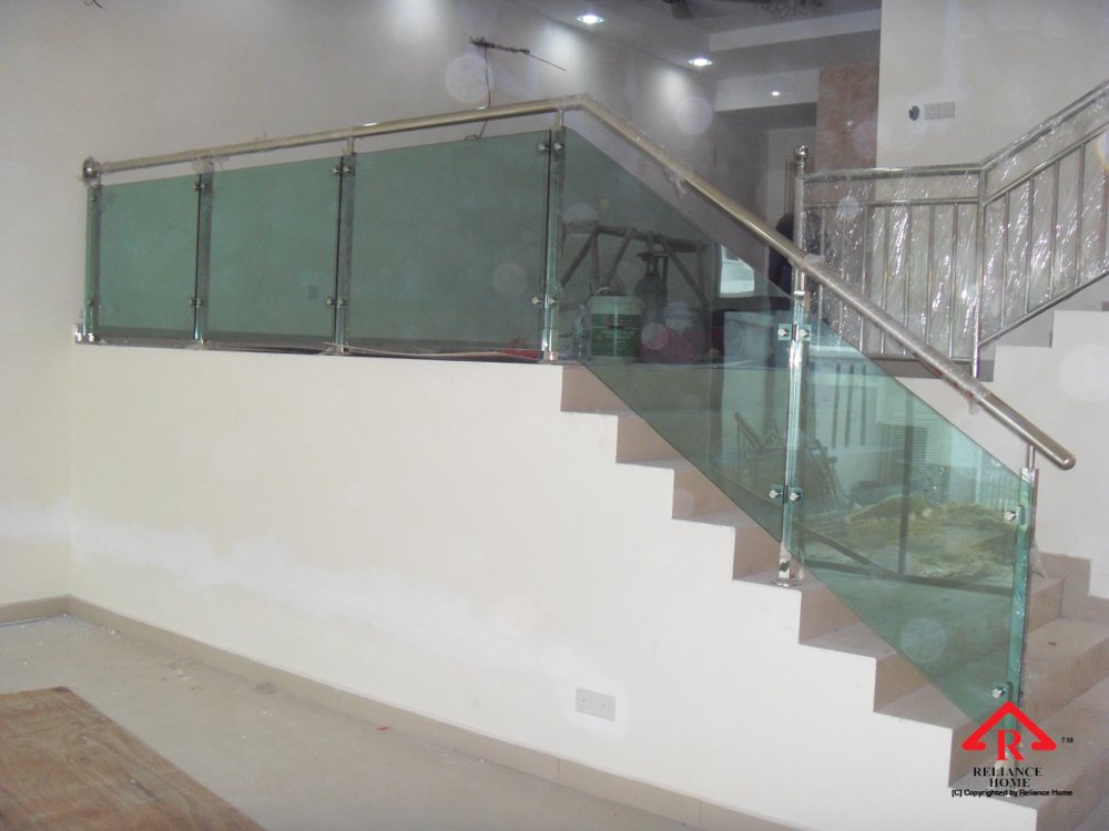 Reliance Home staircase glass-5