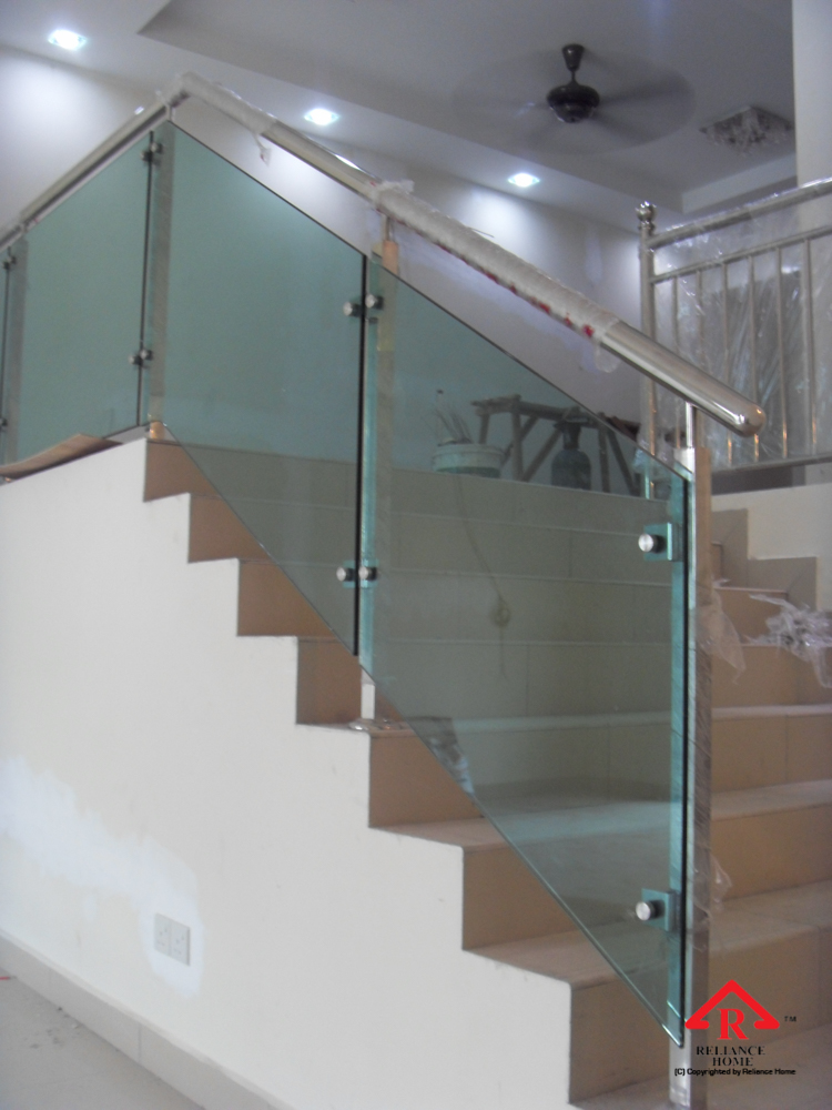 Reliance Home staircase glass-6