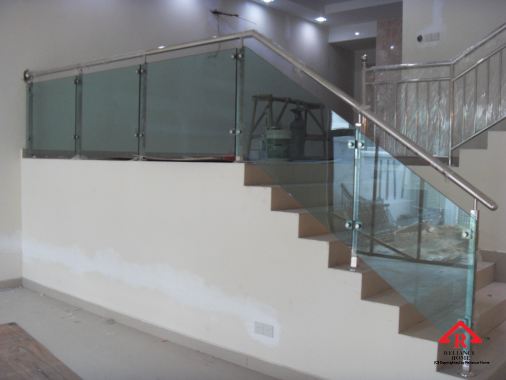 Reliance Home staircase glass-7
