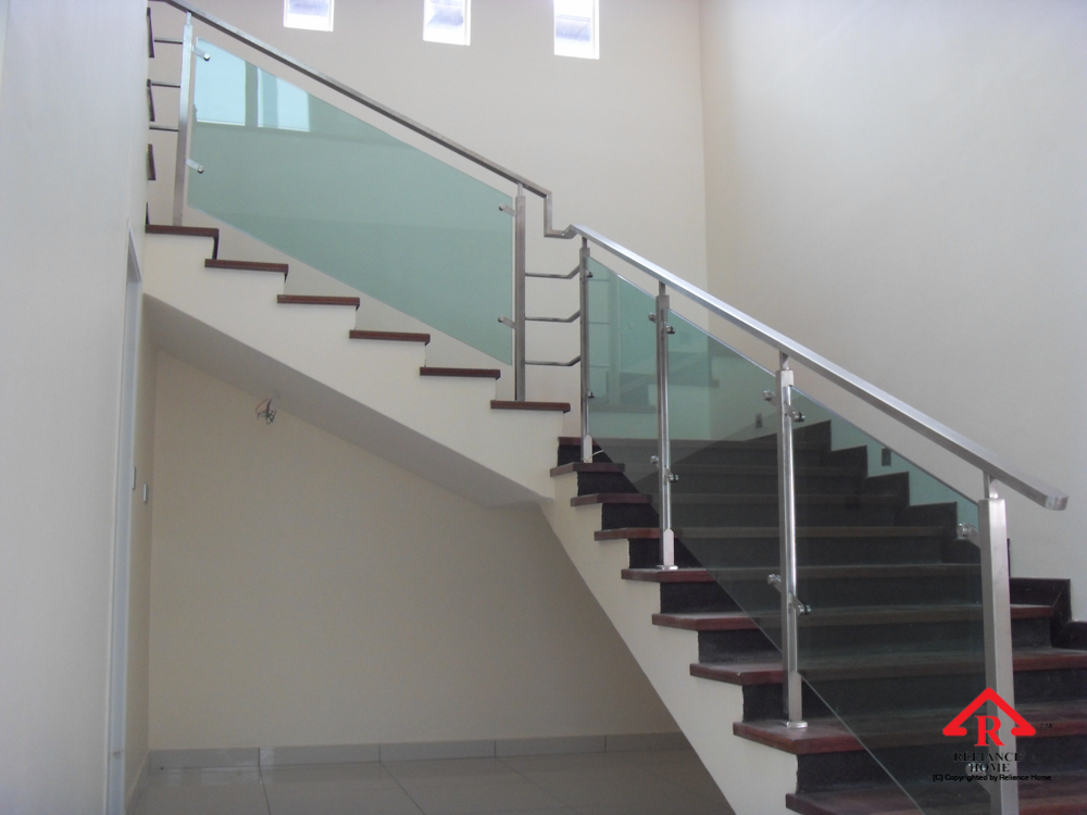 Reliance Home staircase glass-9