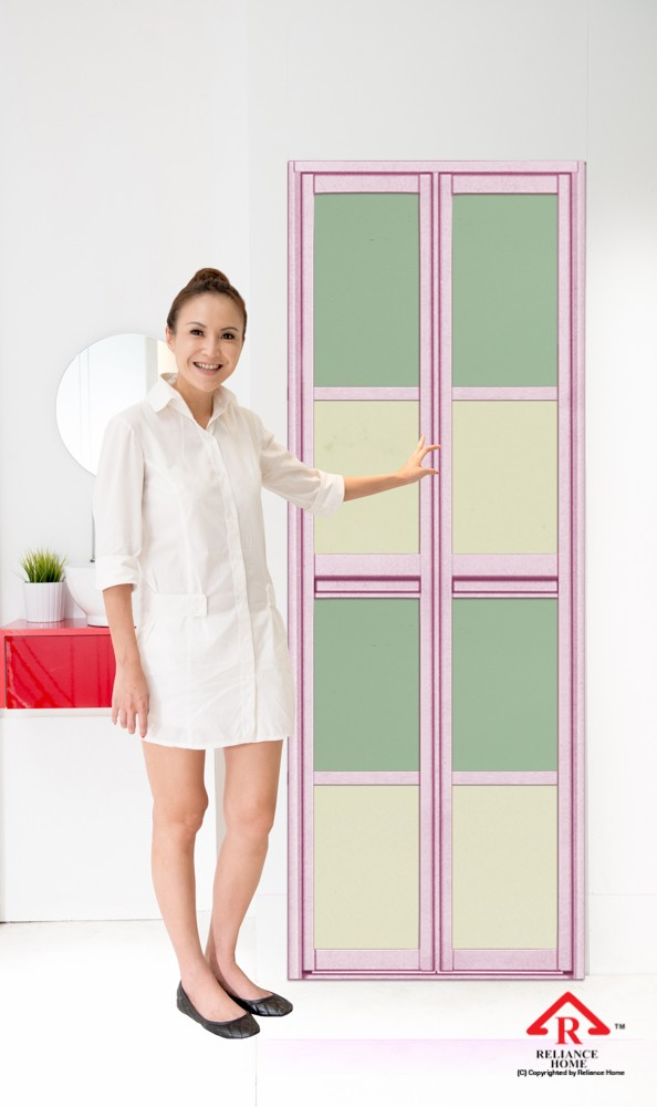 reliance-home-bifold-door-acrylic-panel-pink-frame-color-02