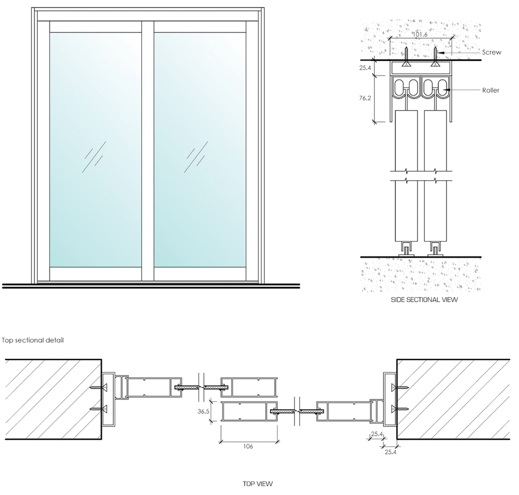 sliding door application 2