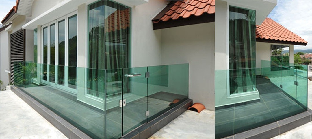 Glass Staircase U Channel Reliance Home