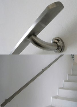 Stainless Steel Handle Staircase Reliance Home