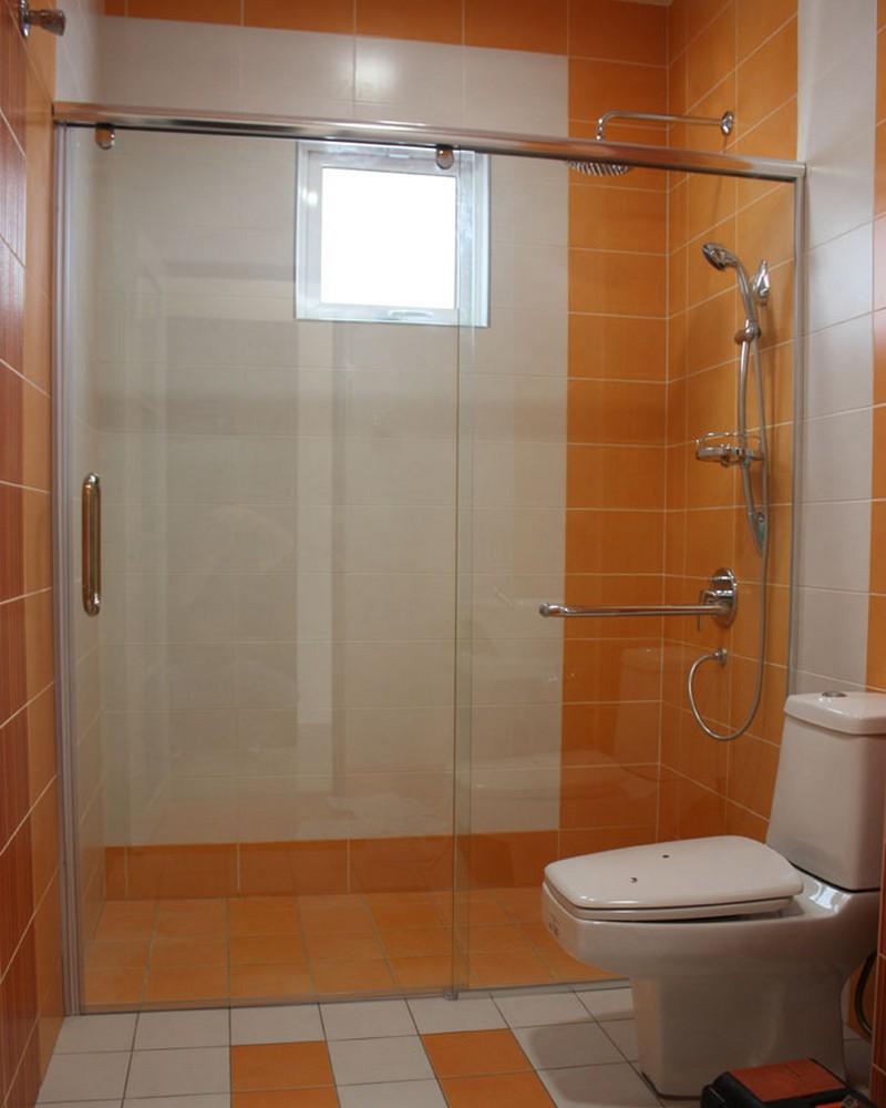 5018P-semi-frameless-shower-screend-esign