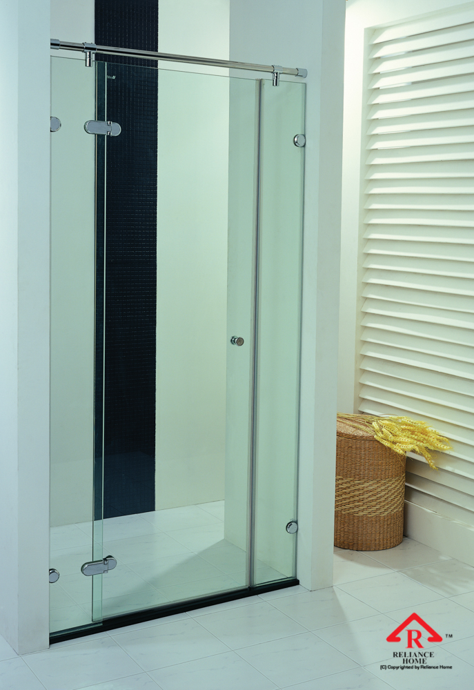 Reliance Home RB090 frameless shower screen