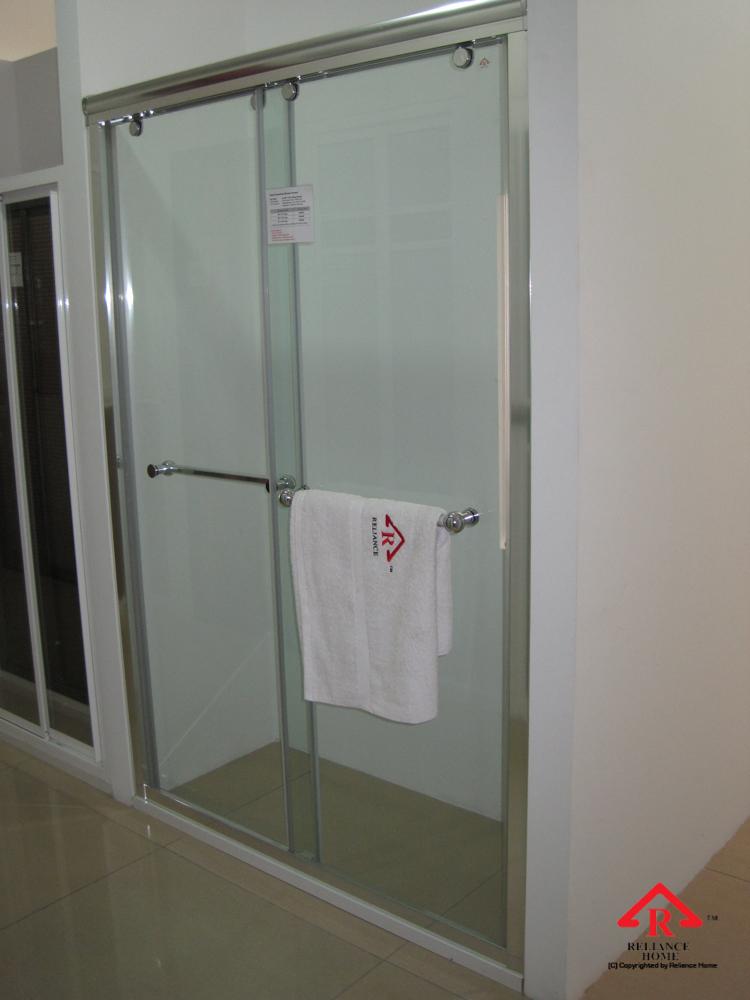 Reliance Home RS5028 sliding frameless shower screen-7