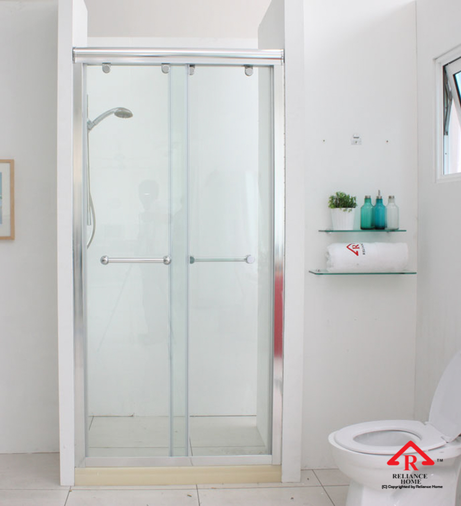 Reliance Home RS5028 sliding frameless shower screen-8