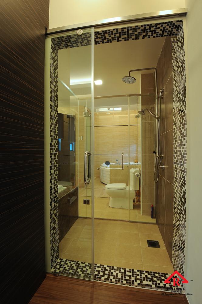 Reliance Home TG800 frameless sliding door-16