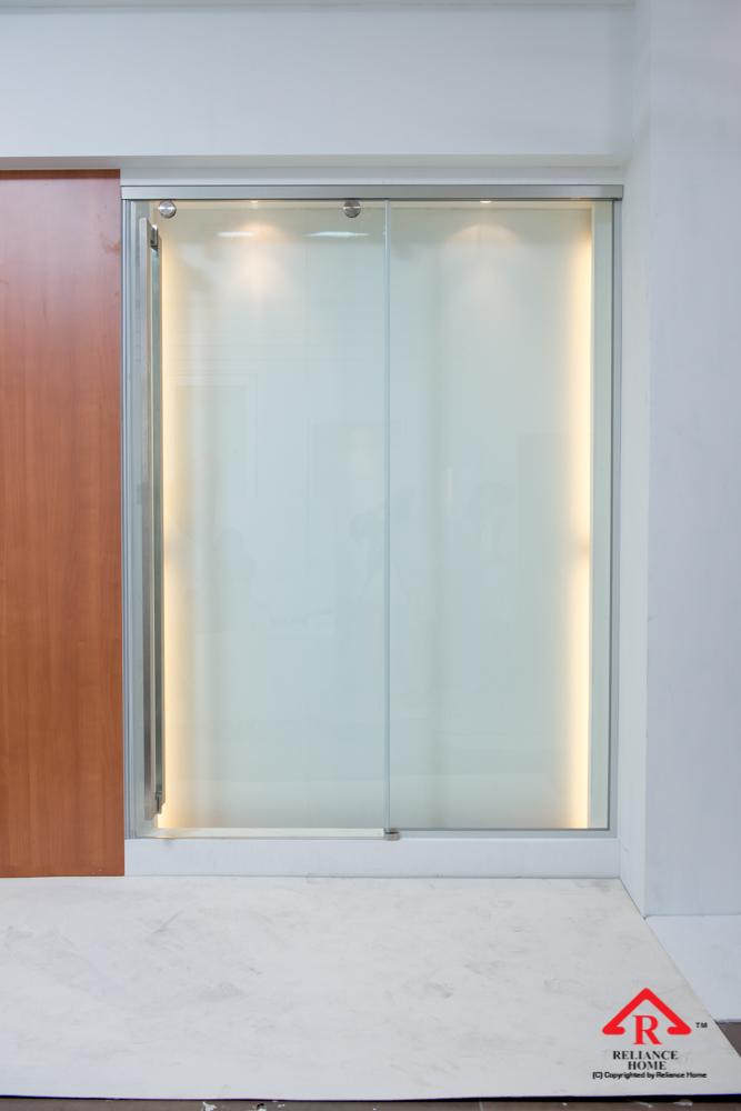 Reliance Home TG800 frameless sliding door-22