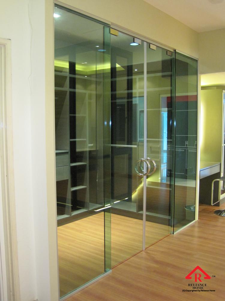Reliance Home TG800 frameless sliding door-3
