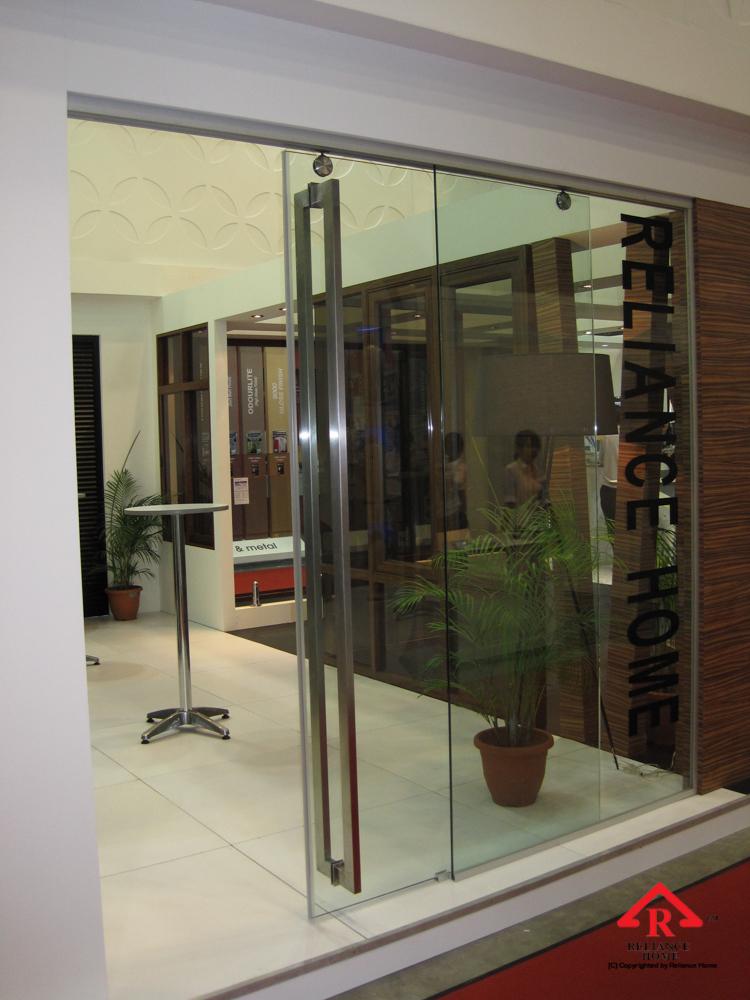 Reliance Home TG800 frameless sliding door-5