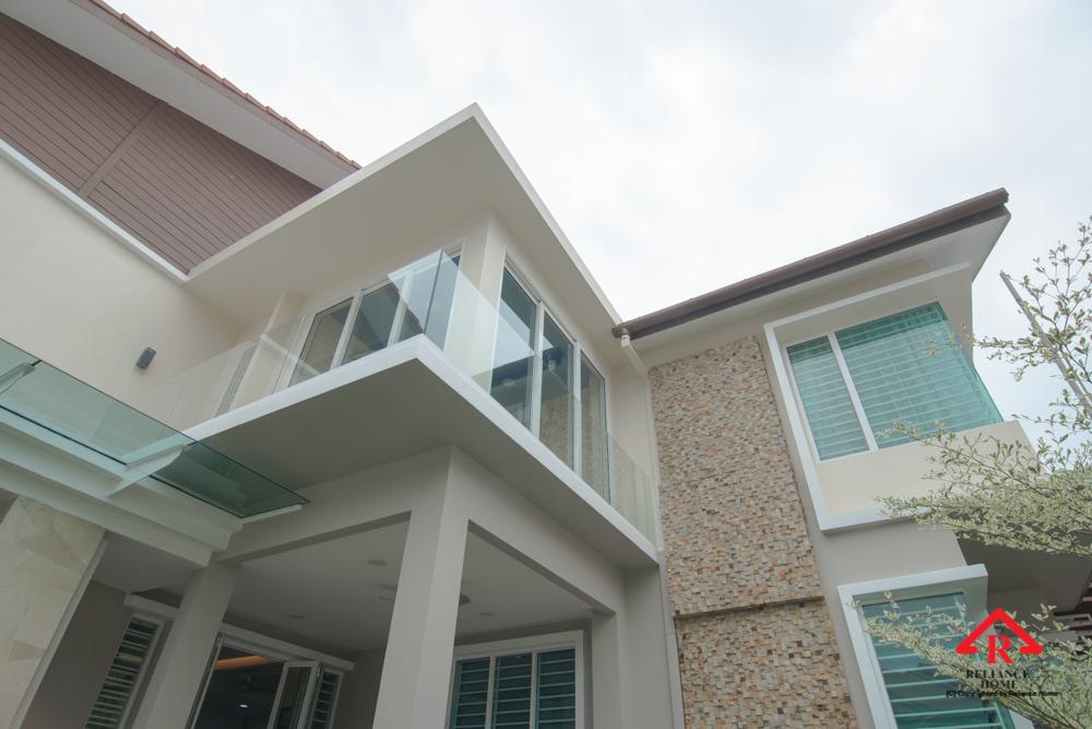 Reliance Home balcony glass U-channel type-115
