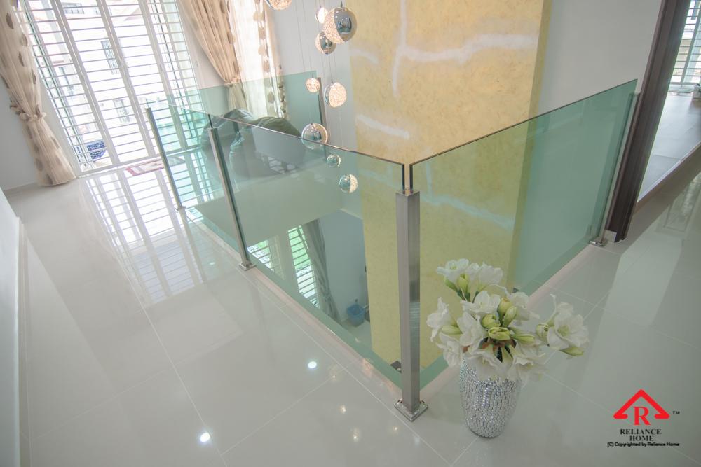 Reliance Home balcony glass U-channel type-117