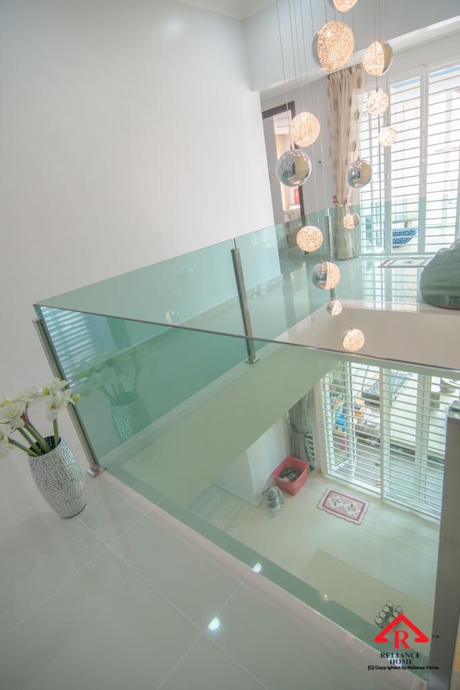 Reliance Home balcony glass U-channel type-118