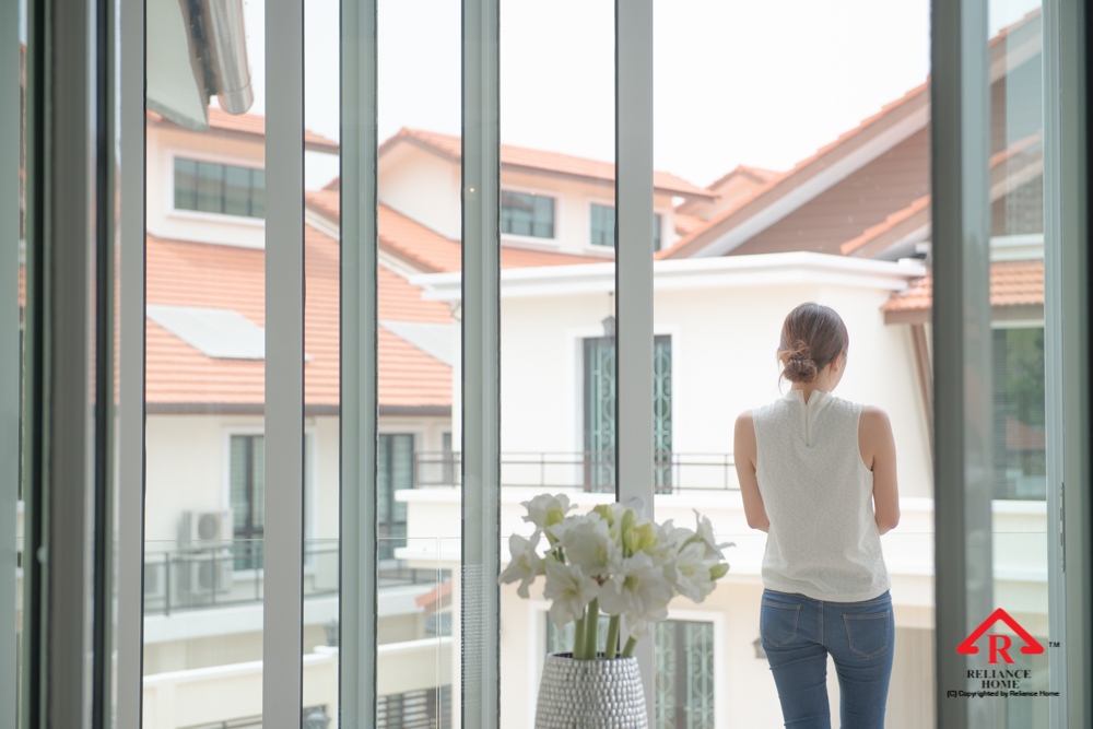 Reliance Home balcony glass U-channel type-119