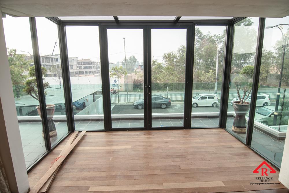 Reliance Home balcony glass U-channel type-122