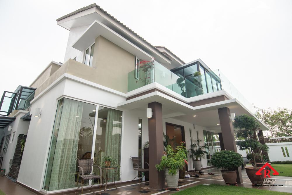 Reliance Home balcony glass U-channel type-130