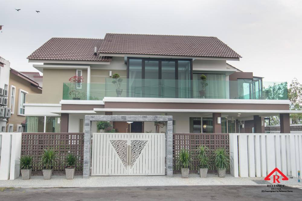 Reliance Home balcony glass U-channel type-131